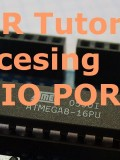ATMEL AVR Tutorial 2 : How to access Input / Output Ports ?