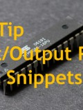 ATMEL AVR Tips – Input Output Ports Code Snippets