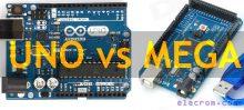 Arduino Uno vs Mega
